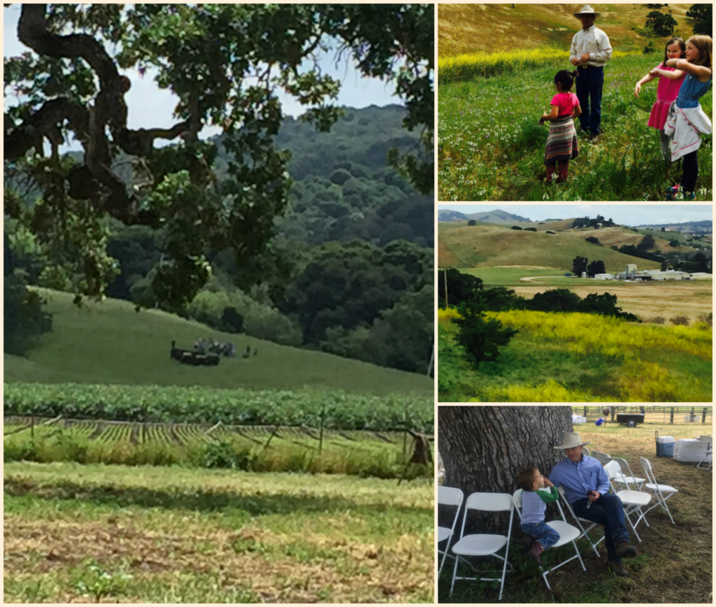 Not just a customer, but part of the family. The ranch in San Juan Bautista